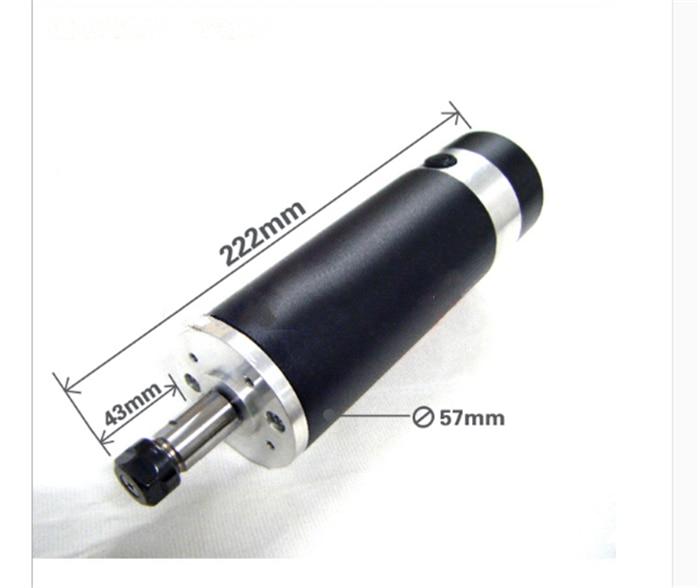 600w 0.6kw ER11 DC Brushed Spindle Motor Air cooling 2000-13000rpm DC24-110V DIY CNC Engraving Drilling milling  цены