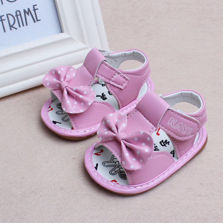 299327553fa 2018 summer 0 2 years old baby girl toddler shoes first time lovely  princess bow newborn sandal birthday gift casual shoes-in Sandals   Clogs  from Mother ...