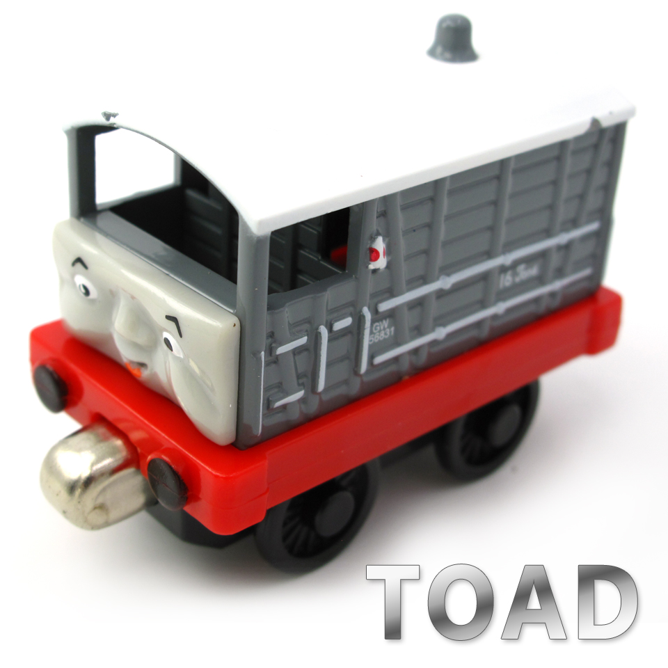 Diecasts Vehicles Thomas T133D TOAD Thomas And Friends Magnetic Tomas Truck Car Locomotive Engine Railway Train Toys for Boys