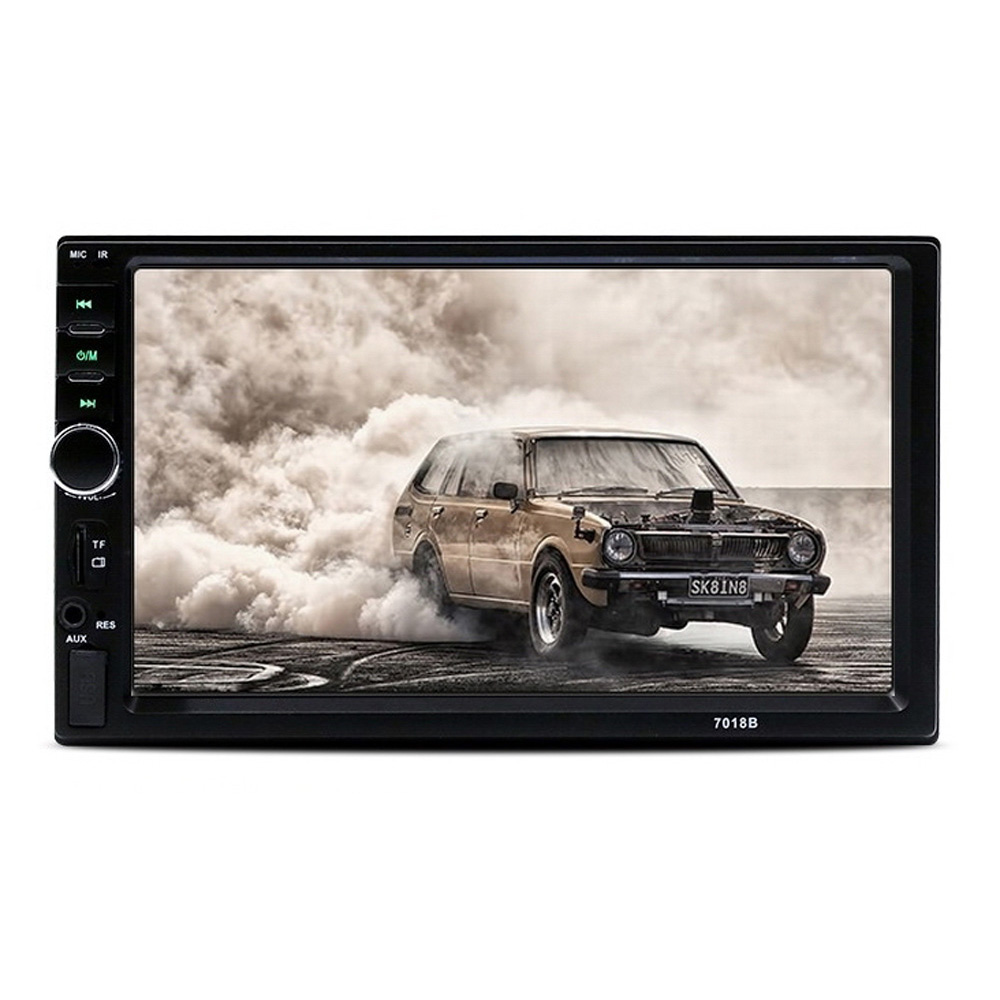 7 Inch Touch Screen Radio Bluetooth Rear View Camera Stereo MP5 Multimedia Audio Player <font><b>GPS</b></font> Navi FM Radio WiFi USB image