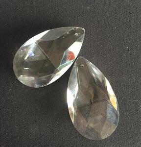 Image 2 - 324 PCS/LOT 50mm larme cristal Penant pour lustre prisme pièces livraison gratuite