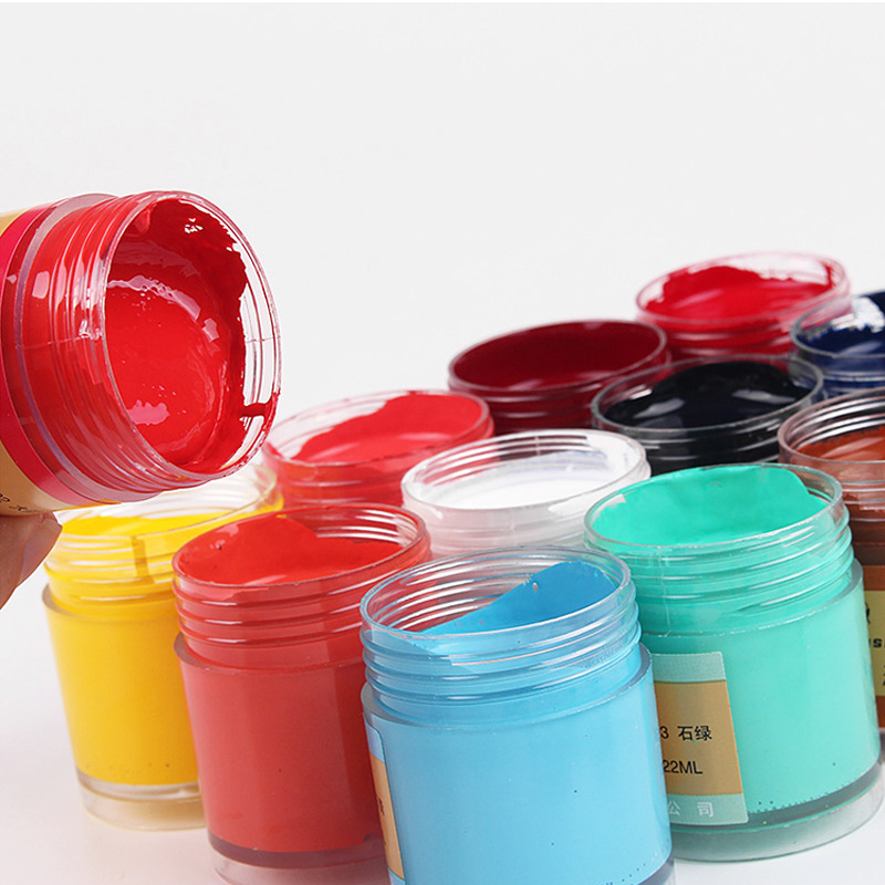 Acrylic Paint, 22ml, Chinese painting acrylic paint Assorted Colors free shippingAcrylic Paint, 22ml, Chinese painting acrylic paint Assorted Colors free shipping