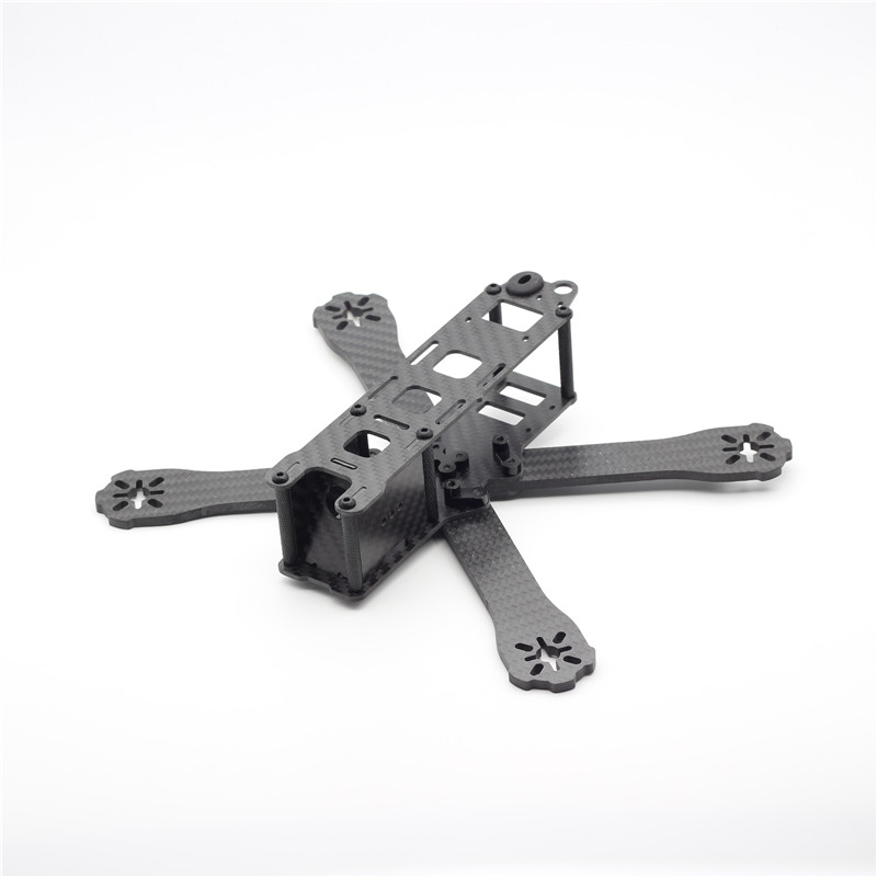 Mini QAV-R 220 Pure Carbon Fiber Board 220mm 220 Quadcopter Frame Kit 4mm Arm for QAV-R 220 Racing Drone DIY RC Through FPV new qav r 220 frame quadcopter pure carbon frame 4 2 2mm d2204 2300kv cc3d naze32 rev6 emax bl12a esc for diy fpv mini drone