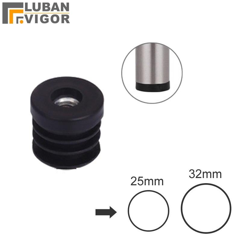 Heimwerker Rohr/rohr Stecker Mit Inneren Muttern Für äußere Durchmesser 25mm 32mm Edelstahl Rohr Rohr GläNzende OberfläChe