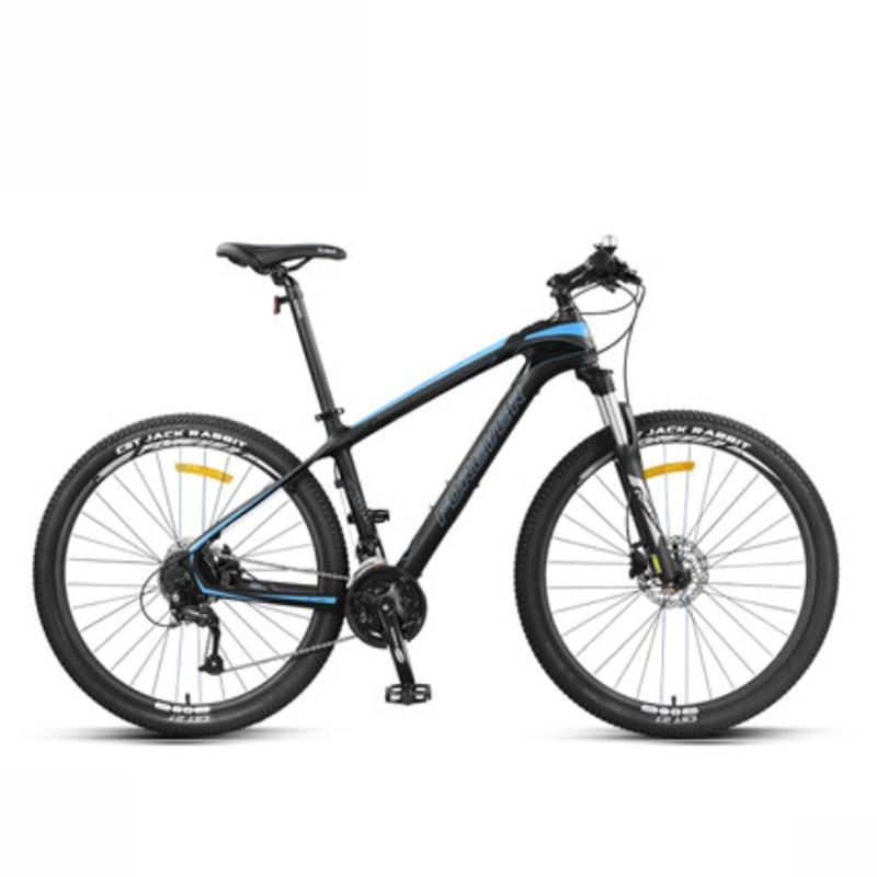 Carbon Fiber Mountain Bike Ultralight Adult Male Variable Speed Mountain Bike Racing