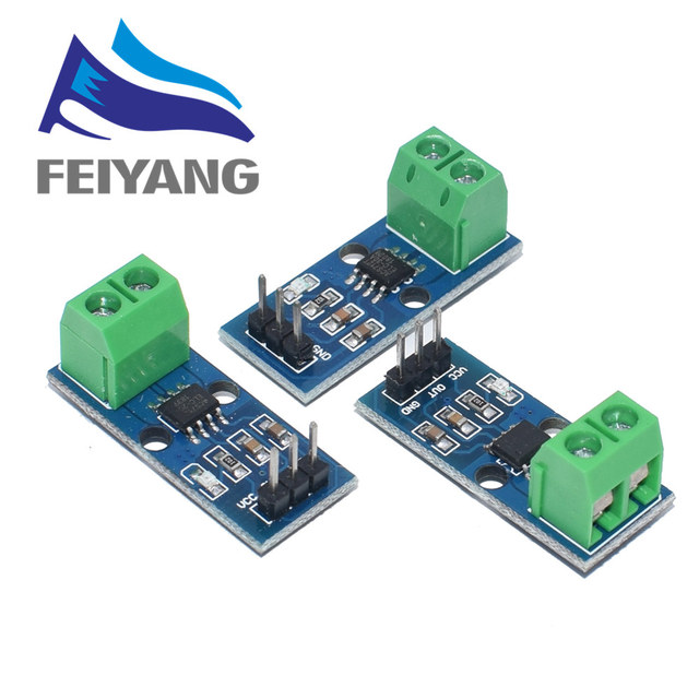 10Pcs 5A 20A 30A Hal Huidige Sensor Module ACS712 Module Voor Arduino ACS712TELC  5A/20A/30A