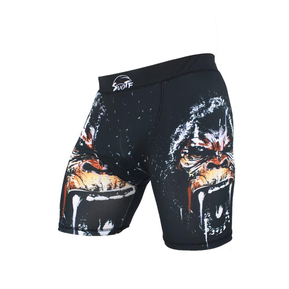 Respirável de Secagem Calças de Treinamento Suotf Feroz Orangotango Luta Calças Tamanho Grande Rápida Muay Thai Combate Mma