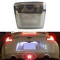 Smoke Lens 3-In-1 LED Rear Fog Light Assembly with 8pcs SAMSUNG LED chips For 2009-up Nissan 370Z & Nismo Juke Brake reverse led