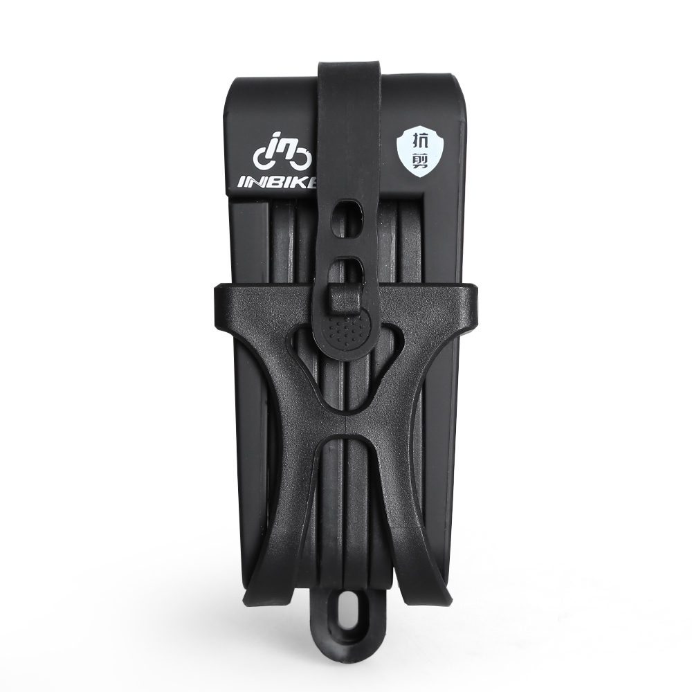 Противоугонный велосипедный замок складной велосипед из нержавеющей стали замок цепи с 3 запасными клавишами