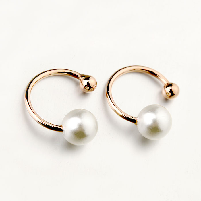 Merk TracyKwok Echt Oostenrijks kristal Goudkleur Oorring voor dames Nieuw te koop Hot # RA25652r-w