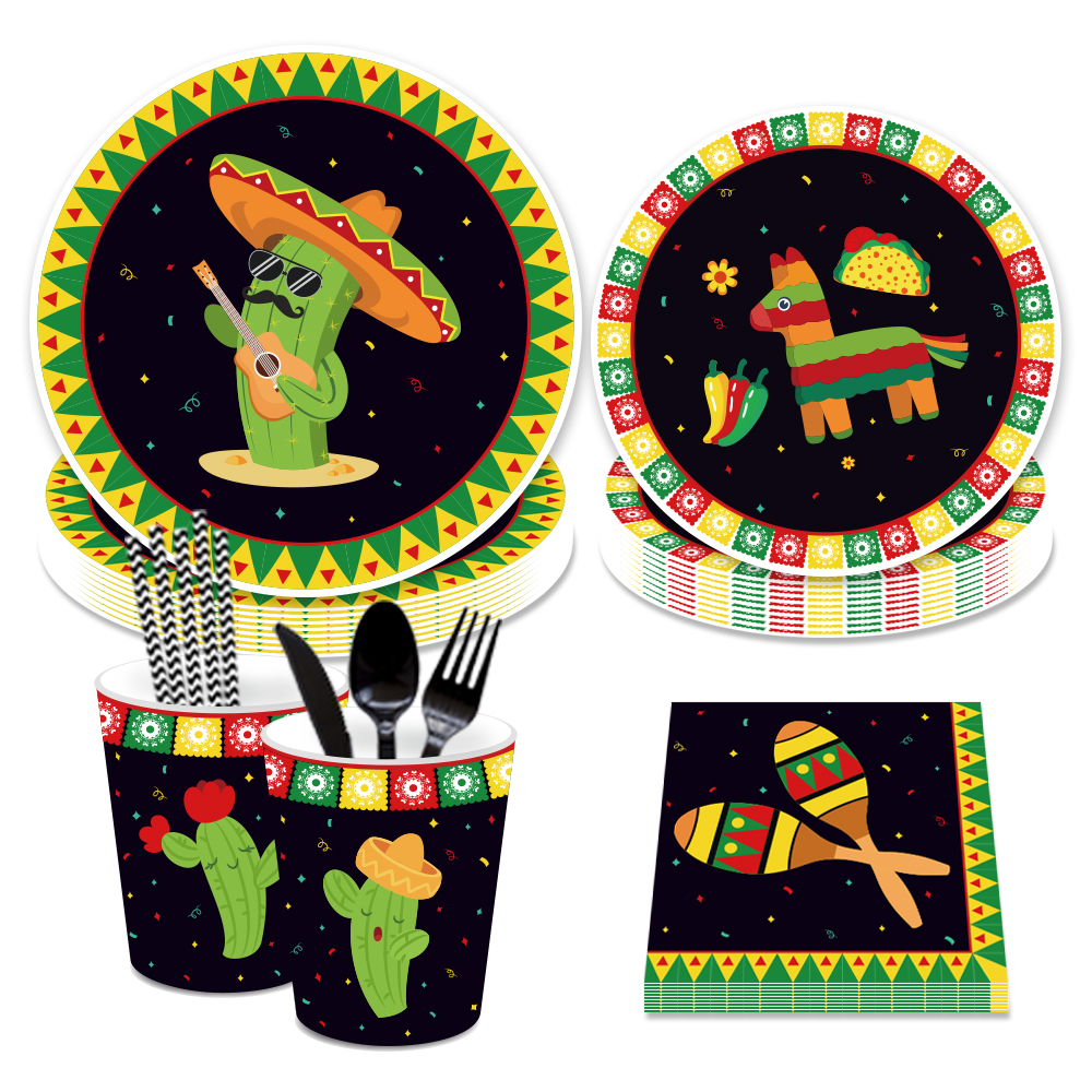 Plates Cups Napkins Good for 12 People Party Squirrel Football Game Day and Score Sheets Football Themed Party Supplies
