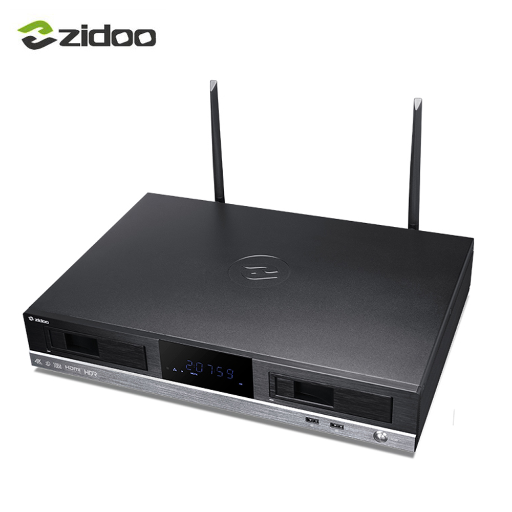 ZIDOO X20PRO TV Box HD player 4K HDR Dual HDMI audio and video separation Dual hard disk drive 3D Play 4K UHD Bluetooth BT4.1