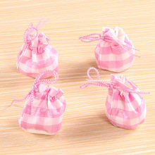 Hot Sale Lovely 4Pcs fabric feet Chair Leg Table Foot tips Covers Floor Protectors Floral Kint doorknob Chair Cover sock