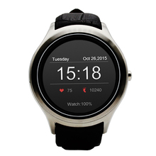 NO.1 D5 Smart Watch Android Heart Rate Monitor Fitness Tracker MTK6572 Android 4.4 IPS Bluetooth WiFi for iOS  Smartphone P20