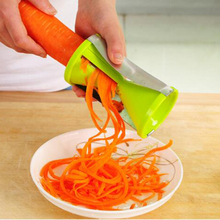 2017 Vegetable Fruit Spiral Shred Process Device Cutter Slicer Peeler Kitchen Tool Spiralizer Cutter Graters kitchen tool Gadget hot sale 3 in 1 spiral vegetable choppers slicer spiralizer fruit veggie cutter twister peeler kitchen accessories