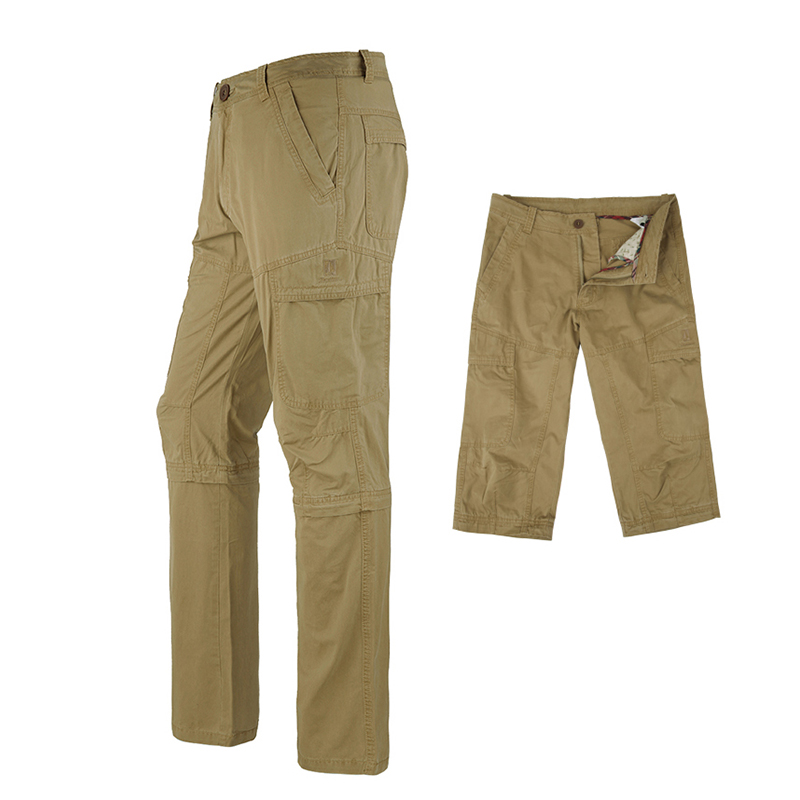 ФОТО Outdoor Sport  Camping & Hiking Pants Multi-Pockets Military Pants for  Hunting 100% cotton Pants Spring Summer Trekking Pants