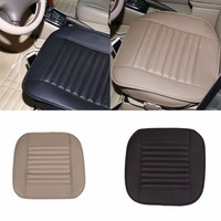 VEHEMO 1Pc PU Car Seat Covers Protector Mat Auto Seat Cushions Non Slip Pads Driver Chair