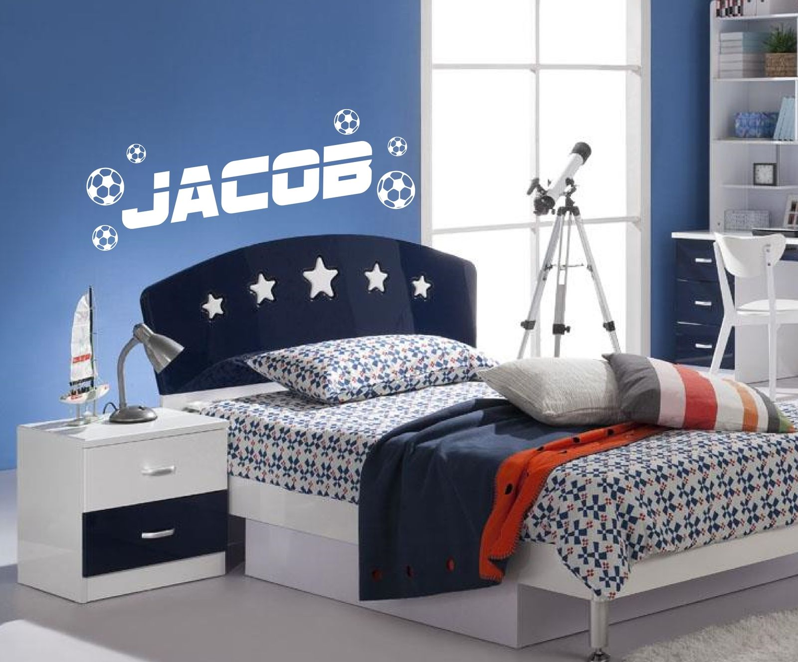 popular boys football bedrooms-buy cheap boys football bedrooms