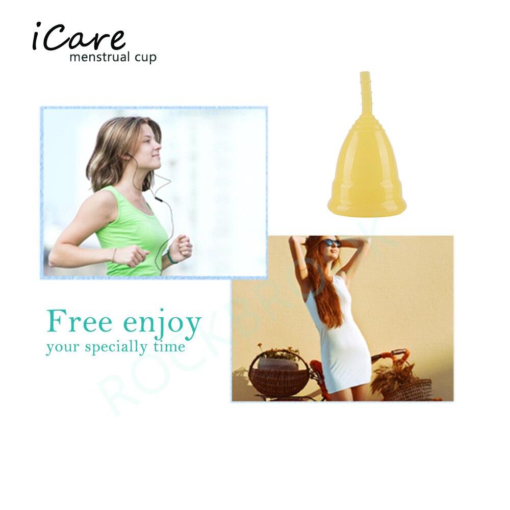 1 Unid. Menstrual Cup Female Period Use Uso soft cup 100% de grado - Cuidado de la salud - foto 3