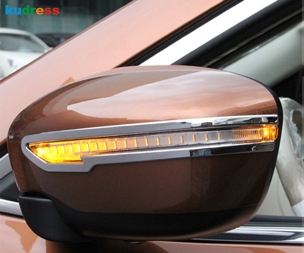 For Nissan Murano 2015 2016 Abs Chrome Rear View Mirrors