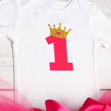 Baby Girl 1 Year Birthday Outfit