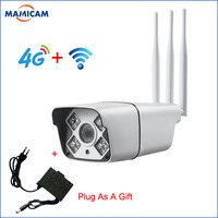 1080P HD 3G 4G SIM Camera 1080P Wireless WIFI IP Bullet Cameras CCTV Surveillance Security Monitor Video Record Outdoor