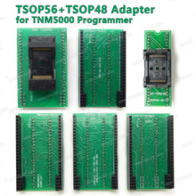 Original New TSOP48 Adapter +TSOP56 ZIF Socket kit Suitable for TNM5000 USB ISP EPROM Programmer Top Qualitu Free Shipping(China)