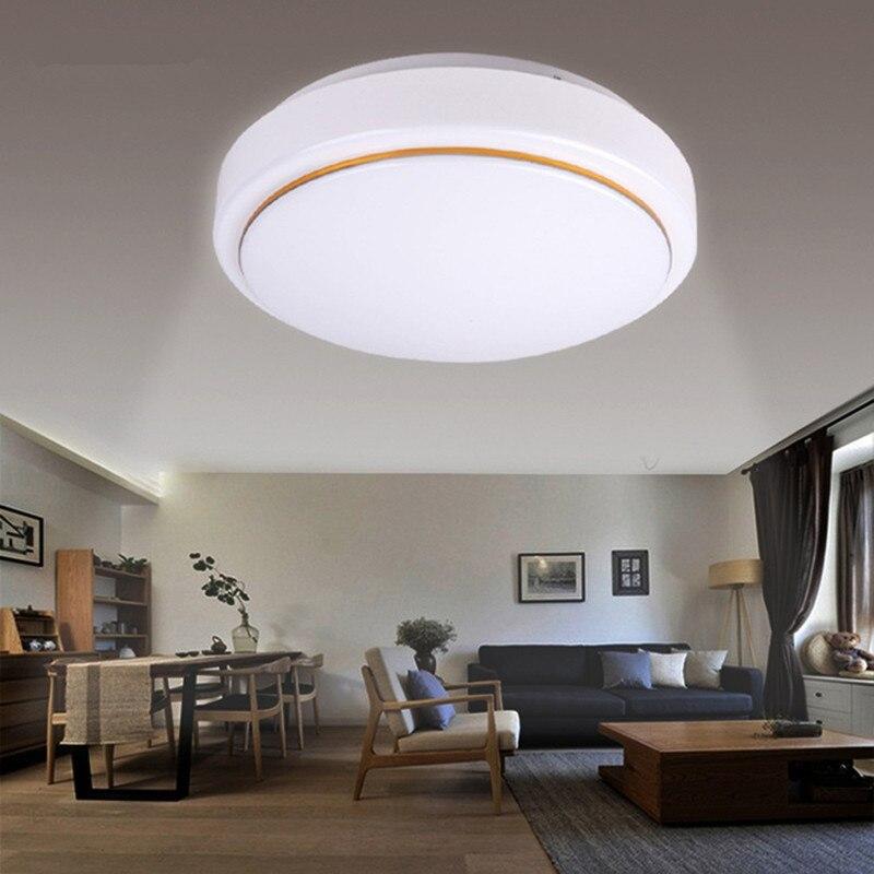 LED stropní svítidlo 24W pro foyer postel pokoj Jídelna Kuchyně Koupelna 220V vnitřní osvětlení kruhové chladné bílé LED stropní svítidlo