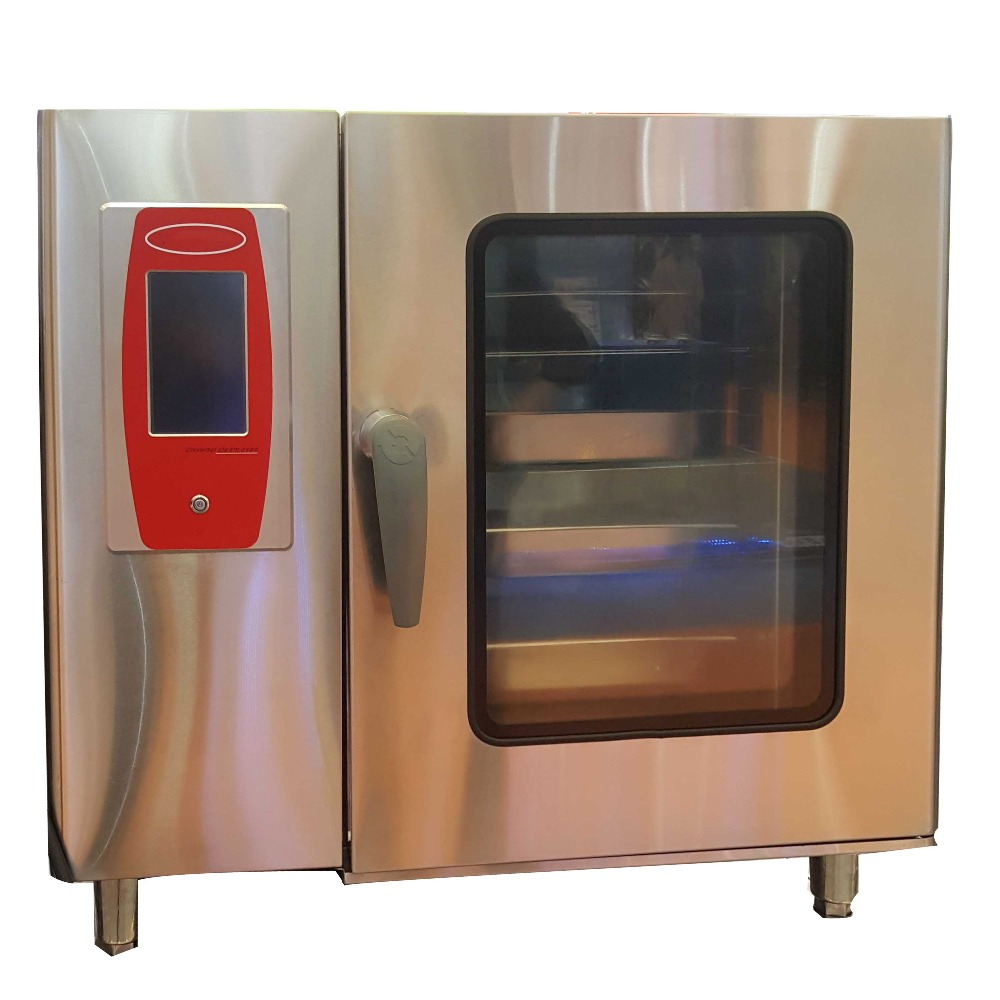 6 10 Trays Multi Functional Electric Combi Steam Oven