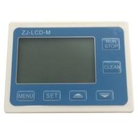 Medidor de fluxo de controle lcd display zj-lcd-tela de m para fluxo de sensor de fluxo