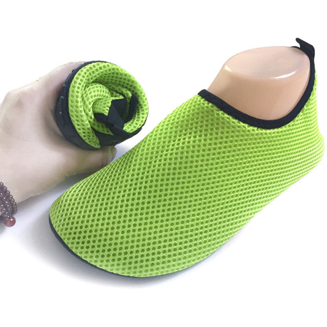 Mesh Sandals Flat Wade Beach Shoes Swimming Shoes Sapato Feminino Summer Breathable Sandalias Mujer Chaussure Femme Water Shoes