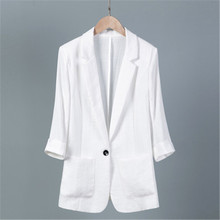 2020 New 5XL 6XL 7XL Seven-point Sleeve Suit Summer Women's Blazer