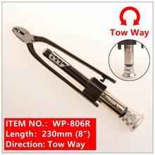 Pince à fil de sécurité bidirectionnelle 8 et 10 pouces, avec un retour de ressort et des mâchoires robustes, idéale pour tordre rapidement le fil
