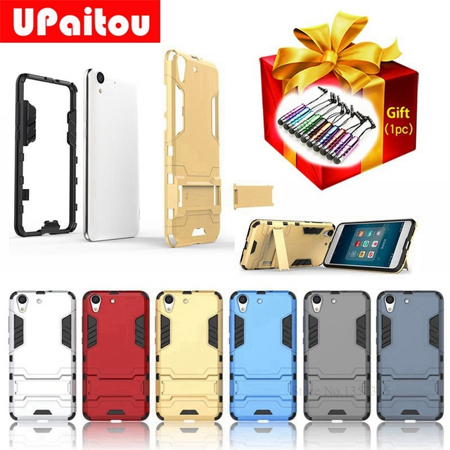 finest selection 53486 153b4 US $4.99 |UPaitou Hybrid TPU PC Armor Shield Case For Huawei Honor Holly 3  Y6II Stand Holder Back Cover Case For Y6 2nd Case-in Fitted Cases from ...