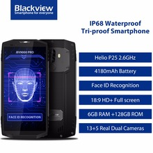 Blackview BV9000 Pro 4G Mobile Phone 18:9 5.7″ MTK6757 Octa Core Android 7.1 6GB+128GB 13MP Waterproof IP68 NFC OTG smartphone