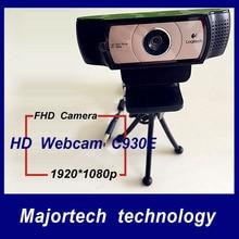 New Genuine 100% Logitech Webcam C930E Carl Zeiss 15MP FHD Camera 1920*1080P HD Webcam DDP ASOS Wecamera