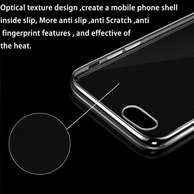 Telefonskydd för iphone 6S genomskinlig mjuk silikon Coque Crystal - Reservdelar och tillbehör för mobiltelefoner - Foto 5