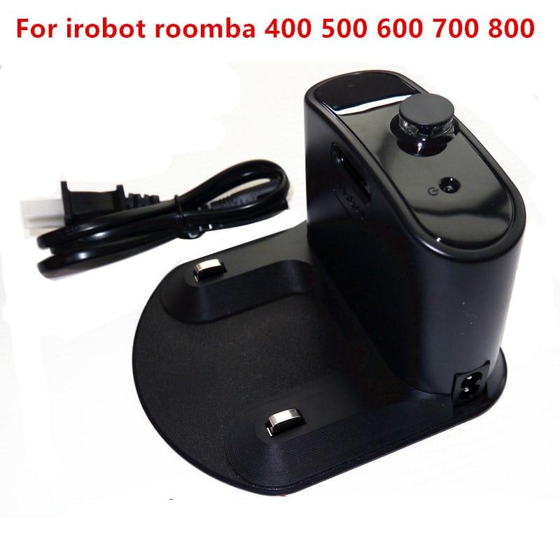 1 Pcs Chargeur Base pour IRobot Roomba 595 620 630 650 660 760 770 780 870 Tous 400 500 600 700 800 Série Aspirateur pièces