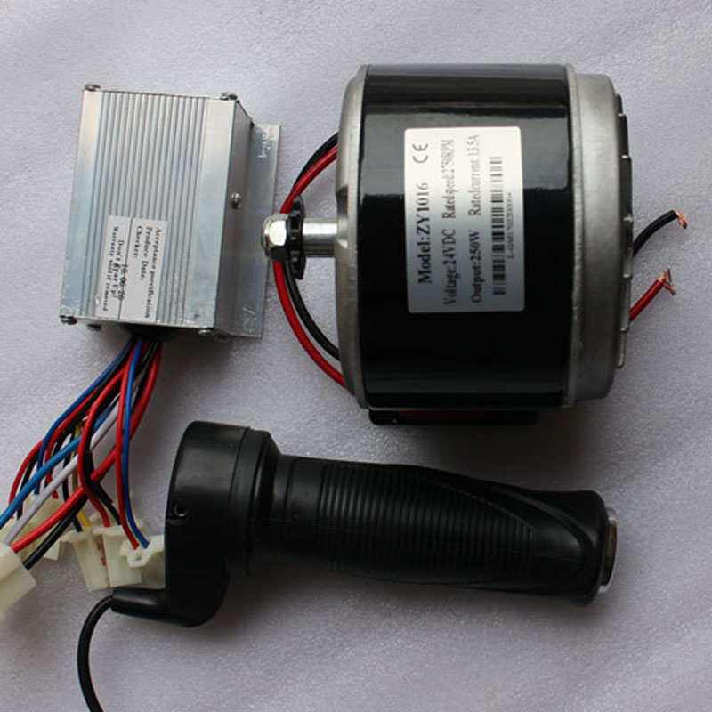 24v dc motor kit 1016zy for diy electric scooter 250w