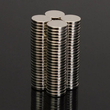 цена на 100Pcs 6mm X 1mm Strong Cylinder Rare Earth Magnet 6X1 Neodymium Bulk Sheet N52 Mini Small Round Magnets Disc 6*1mm