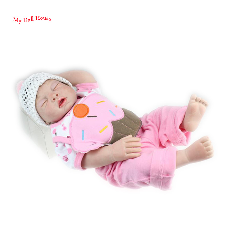 "20"" Silicone Reborn Baby Dolls Kids Toys For Girls ..."
