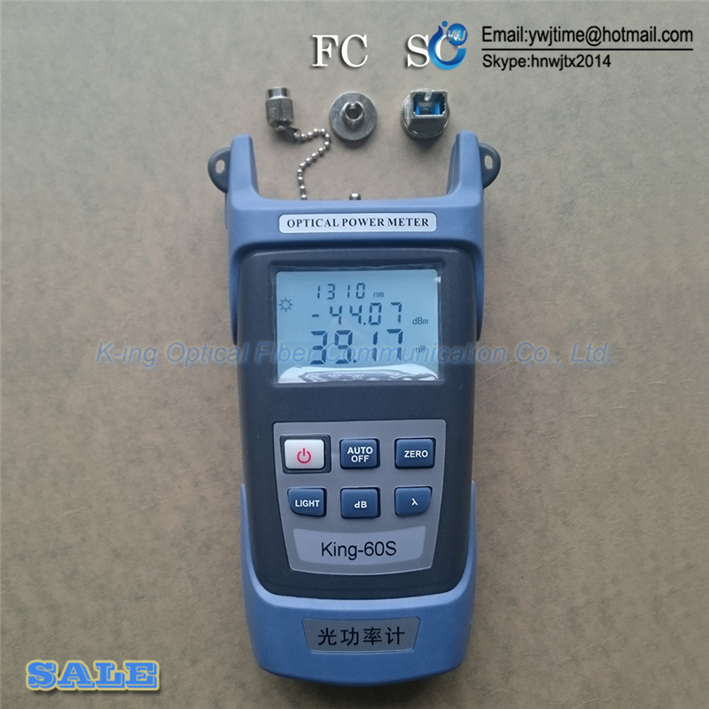 Image 2 - 2 In1 FTTH Fiber Optic Tool Kit Fiber Optical Power Meter  70 + 10dBm and 5km 1mW Visual Fault Locator Fiber optic test pen-in Fiber Optic Equipments from Cellphones & Telecommunications