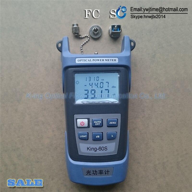 Image 2 - FTTH Набор инструментов для оптического волокна, 2 в 1,  измеритель оптической мощности 70   10dBm и 5 км 1 мВтoptical  poweroptical power meterfiber optic power meter