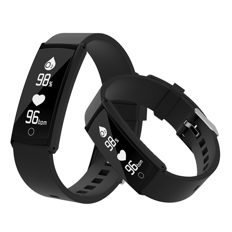 Smart Wristband OLED Screen Bluetooth Men Sport Watches Bracelet for Ios Android Heart R ...