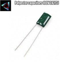 30pcs Polyester film capacitor  2A273J 100V 27nF 0.027uF