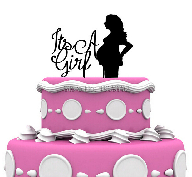 Honest Personalised Baby Shower Acrylic Cake Topper Pregnant Lady Party Decoration Kitchen, Dining & Bar
