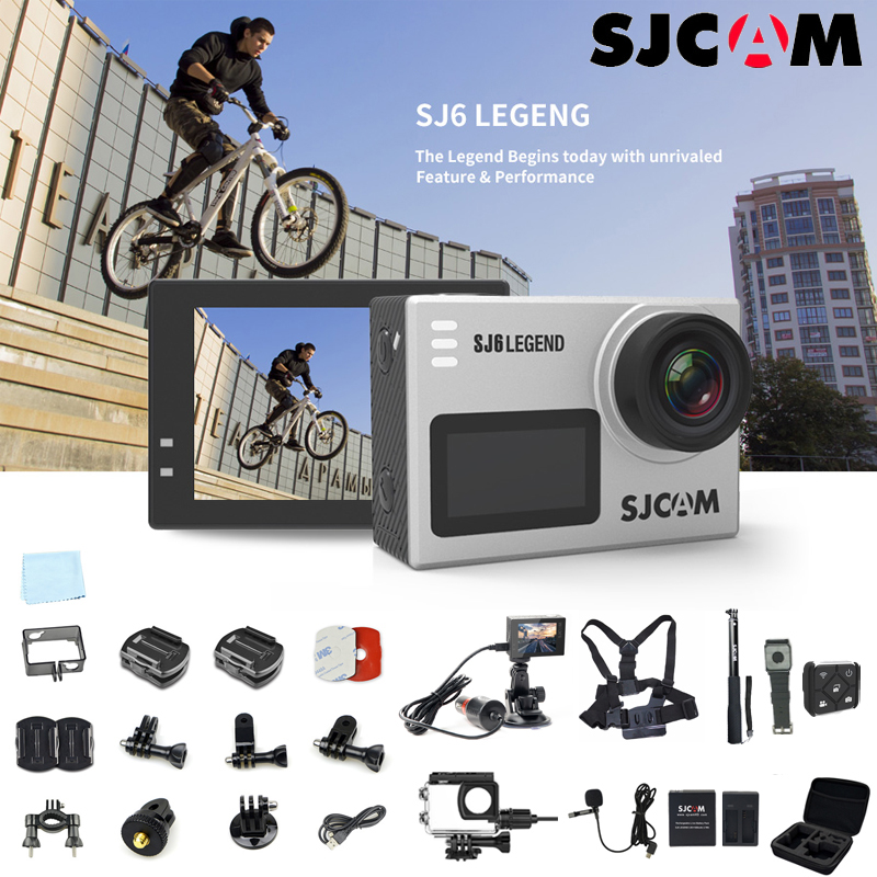 SJCAM SJ6 Legend 4K HD Action Camera WiFi Remote Control Action Video Cam 16MP Waterproof Sport Camera image