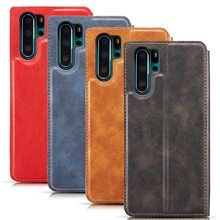 Magnetic Leather Case For Huawei Mate20 P20 P30 Pro Lite P Smart Plus 2019 Honor 20 Pro Wallet Flip Hawei Nova 5 Pro Stand Cover(China)