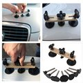 Ferramentas de PDR Kit Mais Recente Ponte Extrator Dent Remoção Conjunto de Ferramentas de Mão Para Paintless Dent Repair Tool kit Ferramentas Instrumentos (ouro)