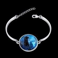 2016 Fashion Luminous Series European&American style trendy silver plated bracelet Leo Starlight luminous bracelet jewelry Gift